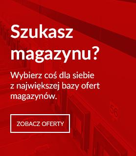 Szukasz magazynu do wynajęcia? Skorzystaj z wyszukiwarki powierzchni magazynowej w Polsce.